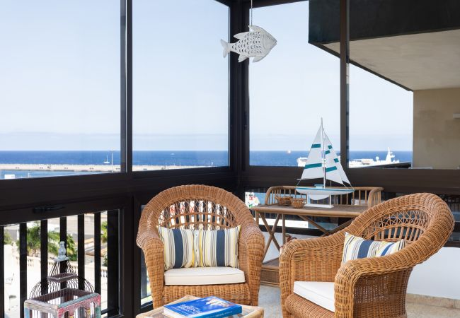 Apartamento en Santa Cruz de Tenerife - Frontline Santa Cruz with sea view