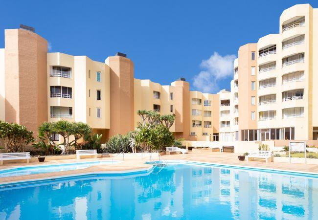 Ferienwohnung in Los Silos - Los Silos Frontline with pool