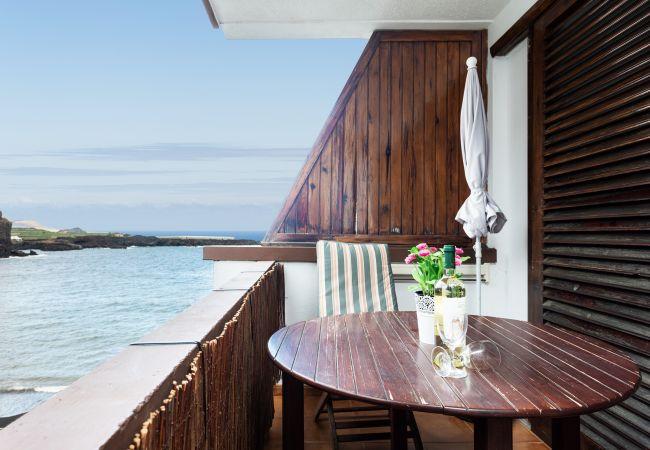 Ferienwohnung in Icod de los Vinos - Apartamento con vistas al mar. Wifi