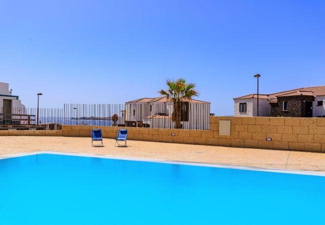 Appartement à Poris de Abona - Apartment Poris with pool and sea view